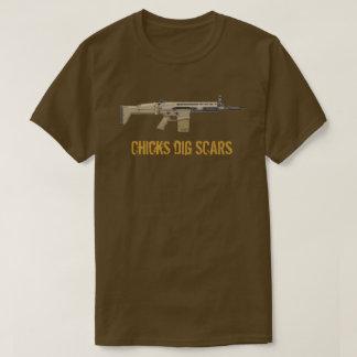 Chicks Dig (FN) Scars T-Shirt