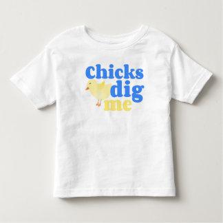 Chicks Dig Me Easter Shirt