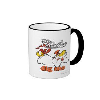 Chicks Dig Me Ringer Mug