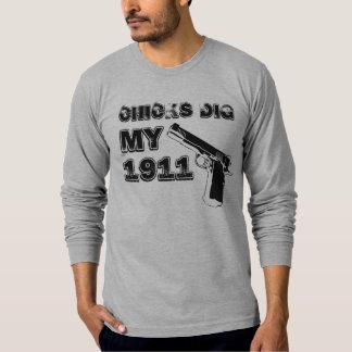 Chicks Dig My 1911 - Black T-Shirt