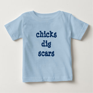 chicks dig scars new shirt