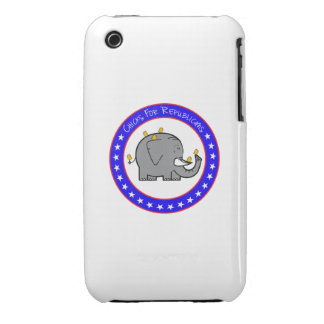 chicks for republican case Case-Mate iPhone 3 case
