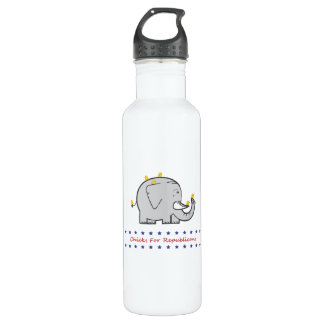 chicks for republicans 710 ml water bottle