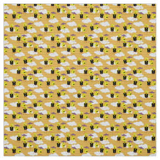 Chicks Going to Church Fabric