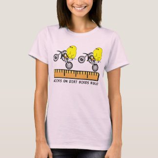 Chicks On Dirt Bikes Motocross Funny Shirt
