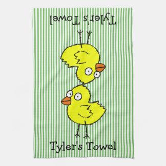 Chicks Tea Towel
