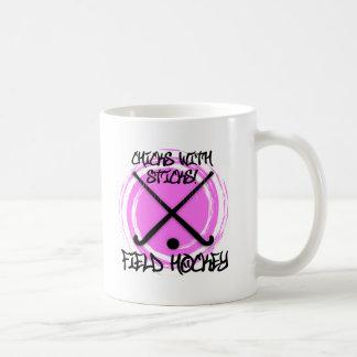 Chicks With Sticks - Field Hockey Coffee Mug