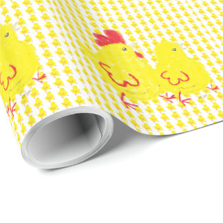 Chicks Wrapping Paper