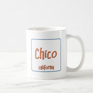Chico California BlueBox Basic White Mug
