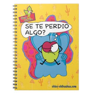 Chico Chihuahua notebook libreta