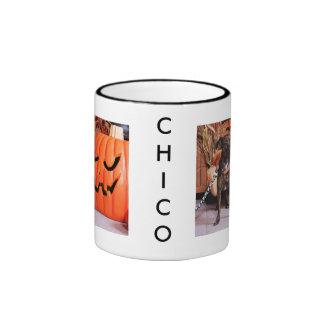 Chico - ChiWeenie - Photo-2 Ringer Mug