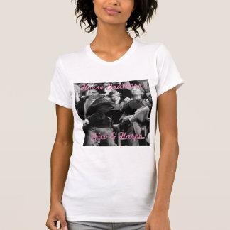 Chico & Harpo Marx Ladies T-Shirt