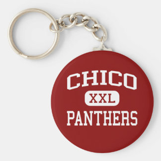 Chico - Panthers - High School - Chico California Key Ring
