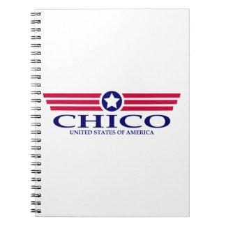 Chico Pride Spiral Note Book