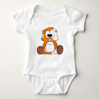 Chico the Hamster Baby Bodysuit