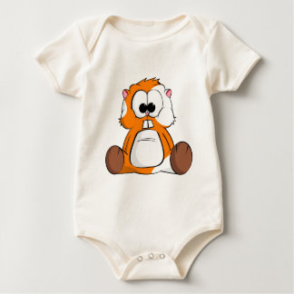 Chico the Hamster Baby Bodysuit