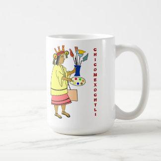 Chicomexochtli patron god of artistS Mug