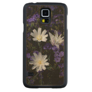 Chicory and Phacelia Wildflowers Carved Maple Galaxy S5 Case
