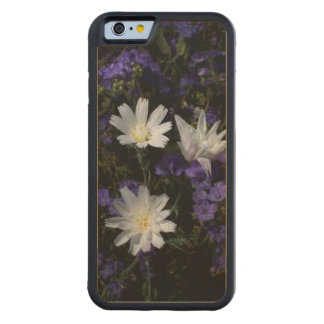 Chicory and Phacelia Wildflowers Carved Maple iPhone 6 Bumper Case