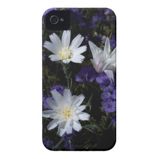 Chicory and Phacelia Wildflowers Case-Mate iPhone 4 Case