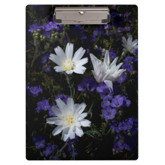 Chicory and Phacelia Wildflowers Clipboards