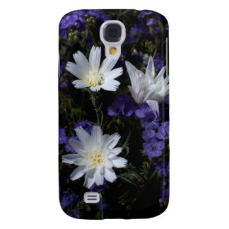 Chicory and Phacelia Wildflowers Galaxy S4 Case