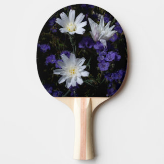 Chicory and Phacelia Wildflowers Ping Pong Paddle