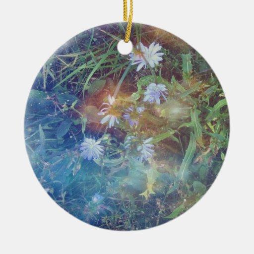 Chicory Grass Ornament