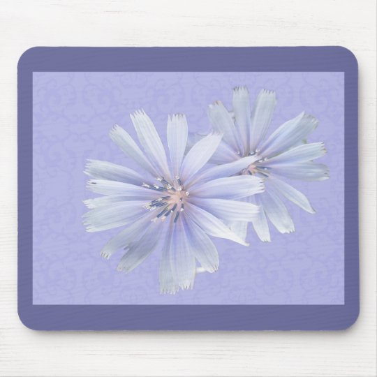 Chicory Wildflower Mouse Pad