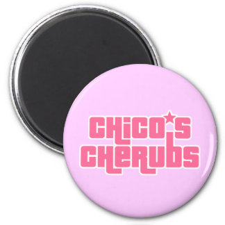 Chico's Cherubs Logo Magnet