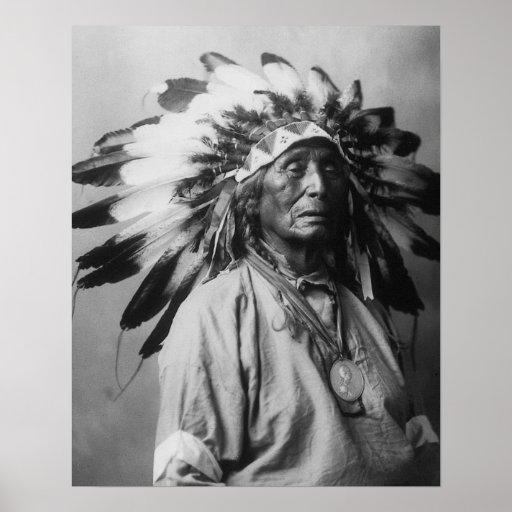 Chief Bear Claw Print