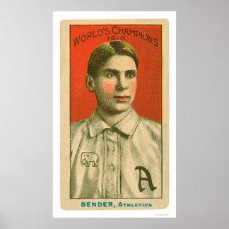 Chief Bender Baseball 1910 Poster