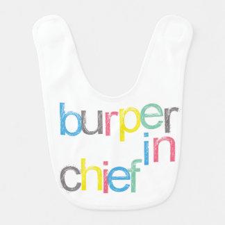Chief Burper Baby Bib