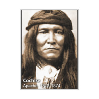 Chief Cochise Wrapped Canvas