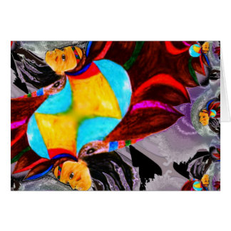 Chief Color Spirit multi poducts Greeting Card