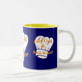 Chief Cook Bottle Washer Coffee Mugs