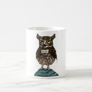 Chief detective Mr. Owl badge Coffee Mug