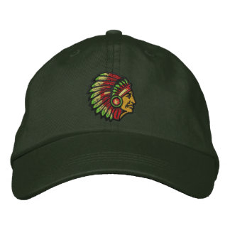 Chief Embroidered Baseball Caps