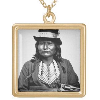 Chief Esatonyett, 1869 (b/w photo) Jewelry