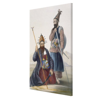 Chief Executioner and Assistant of His Majesty the Canvas Print