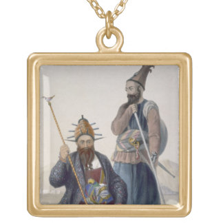 Chief Executioner and Assistant of His Majesty the Square Pendant Necklace