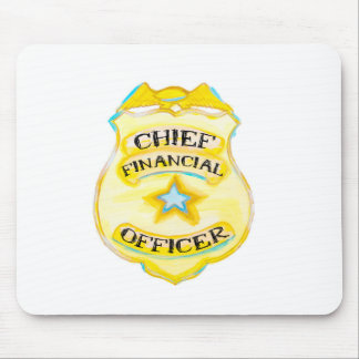 Chief Financial Officer Mouse Pad for Accountant
