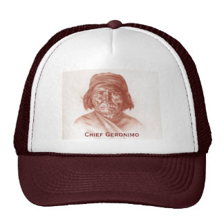 Chief Geronimo portrait 1898 Trucker Hat
