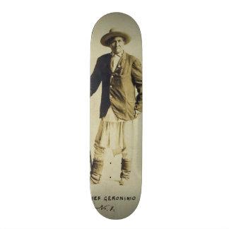 Chief Geronimo Standing Portrait 1904 Skate Decks