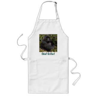 CHIEF GRILLER Mountain Gorilla BBQ Apron