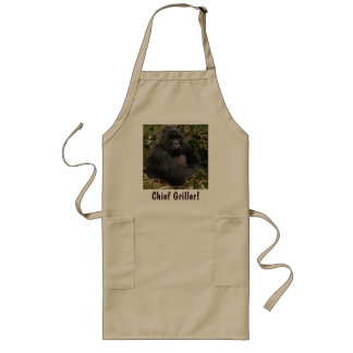 CHIEF GRILLER Mountain Gorilla Fun BBQ Apron