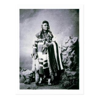 Chief Joseph (1840-1904) c.1880 (b/w photo) Postcard