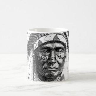Chief Joseph 3 Coffee-Mugs Basic White Mug