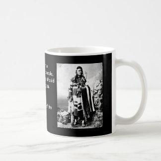 Chief Joseph Basic White Mug