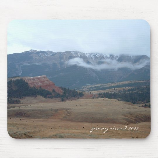 Chief Joseph Byway Wyoming Mousepad